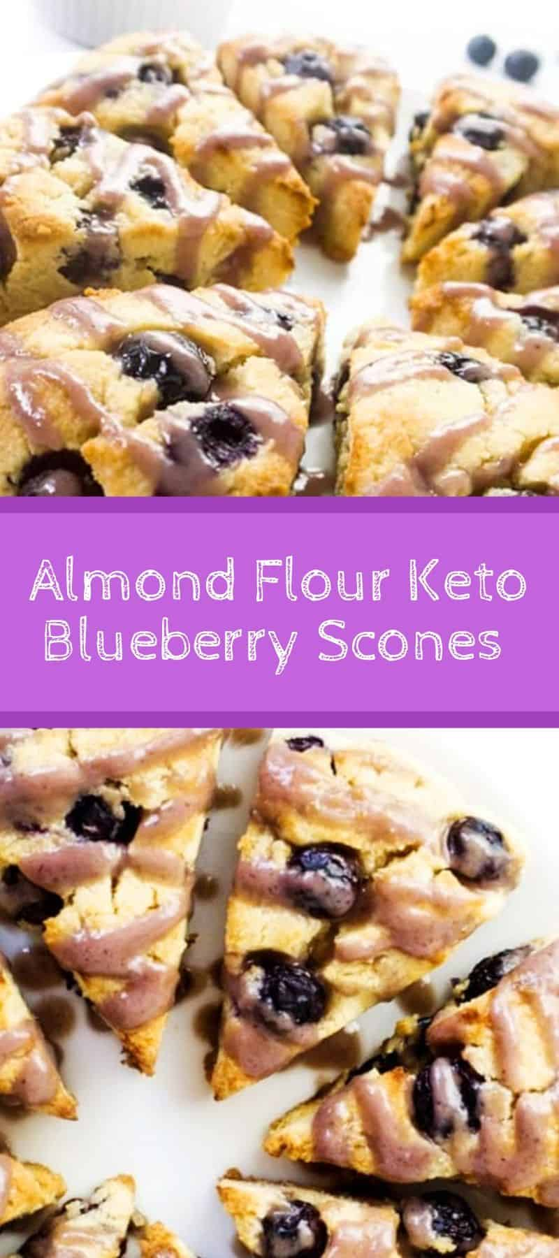 Almond Flour Keto Blueberry Scones Recipe 3