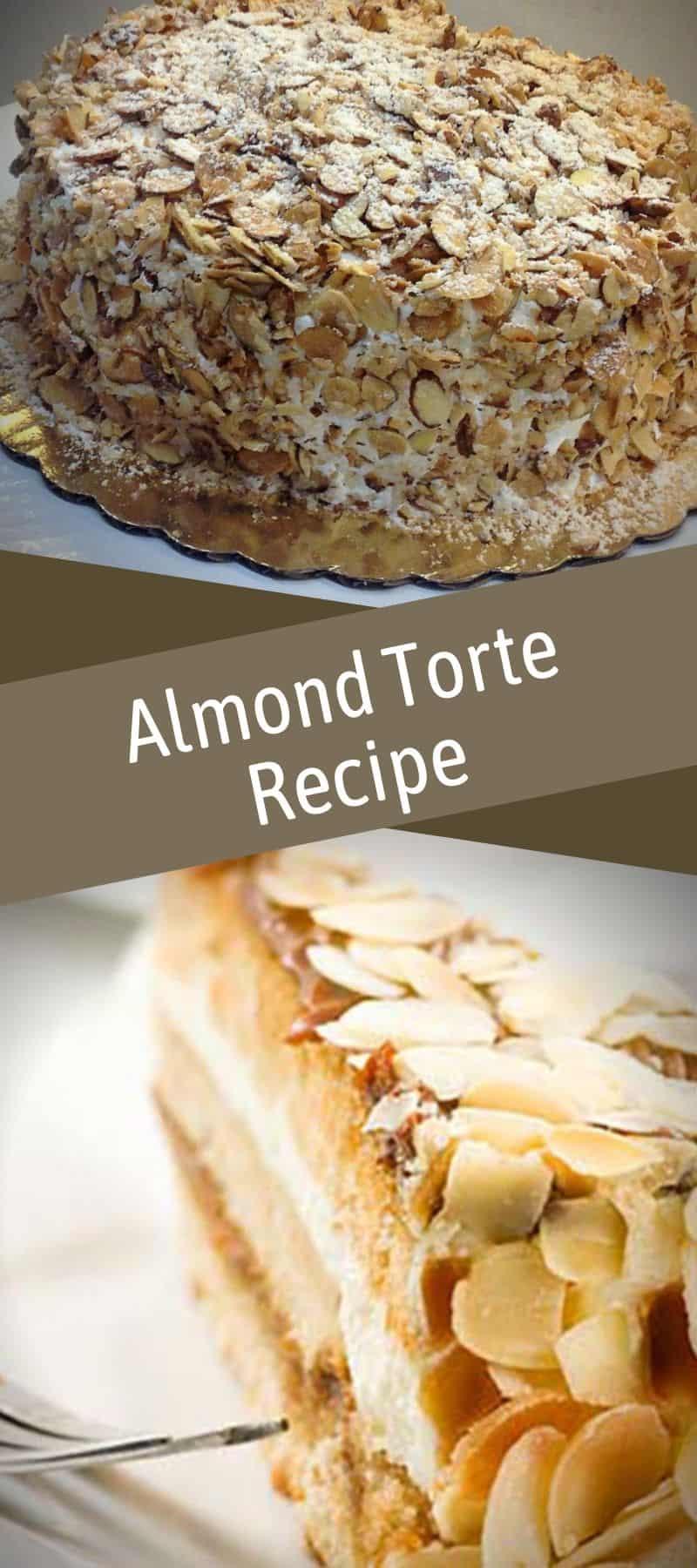 Almond Torte Recipe 3