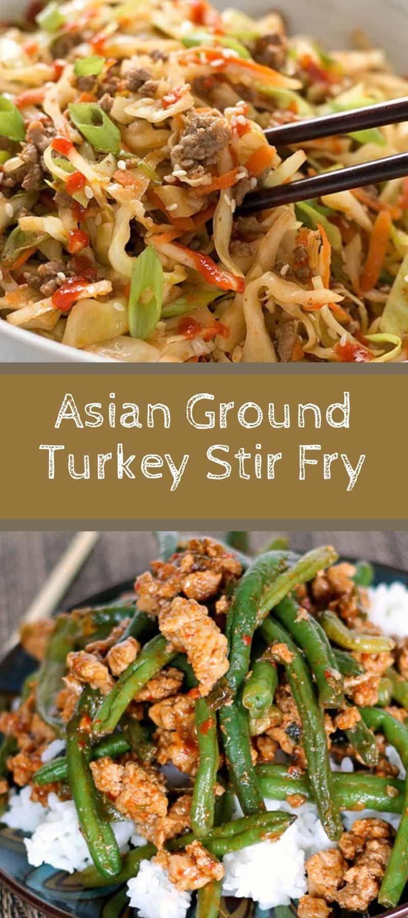 Asian Ground Turkey Stir Fry Recipe 2