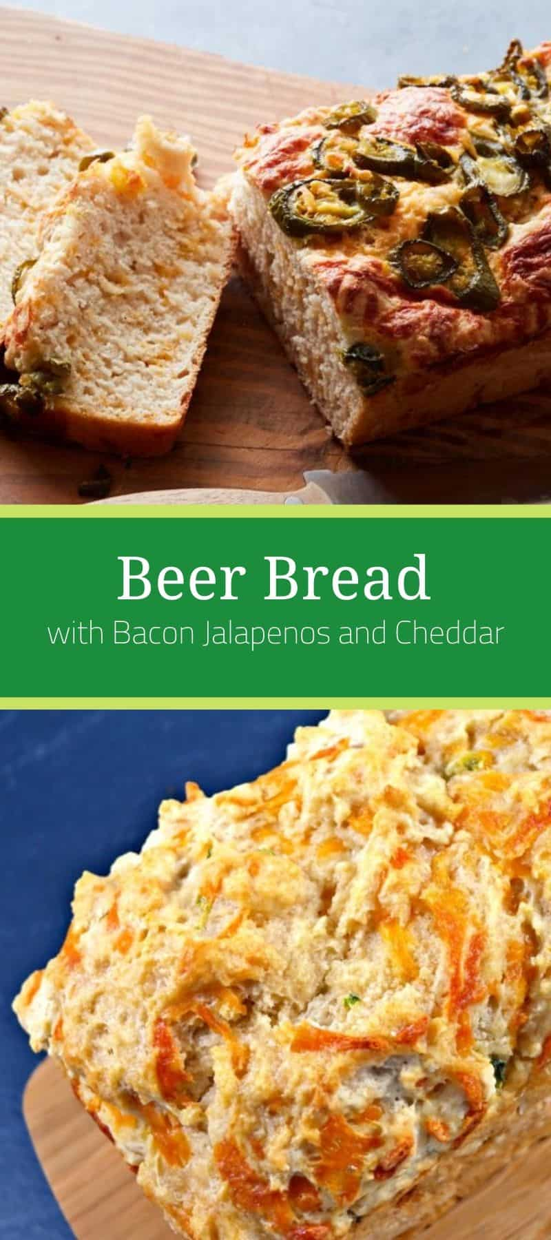 Beer Bread with Bacon Jalapenos and Cheddar 3