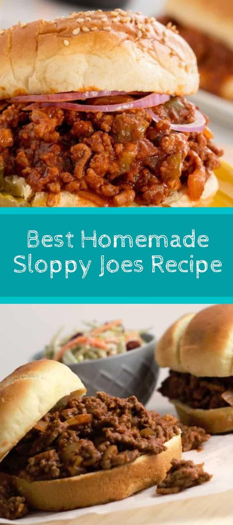 Best Homemade Sloppy Joes Recipe 3