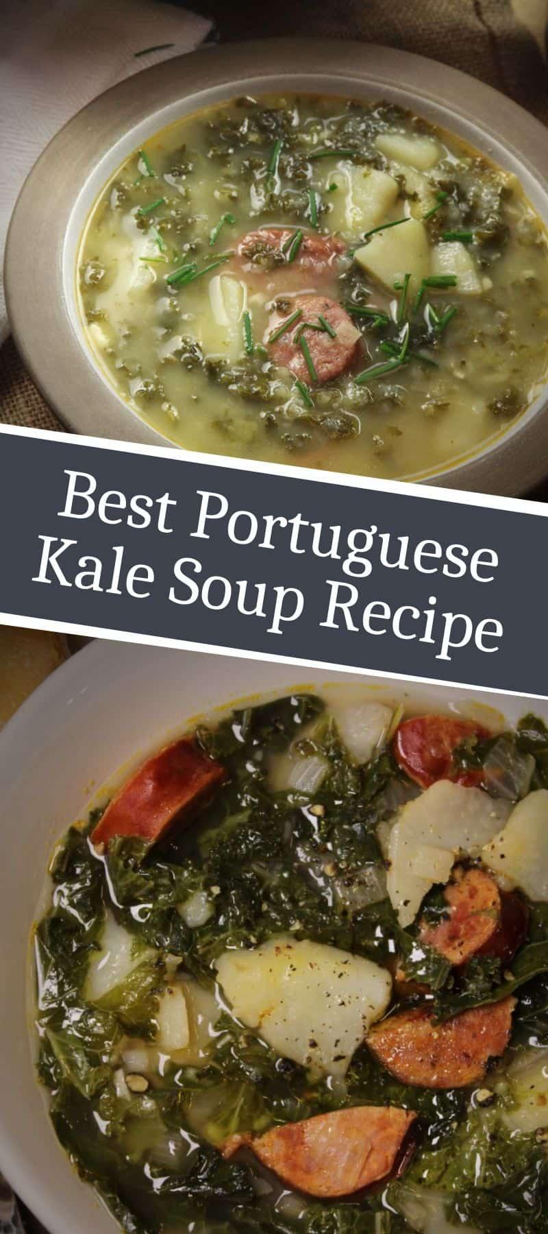 Best Portuguese Kale Soup Recipe