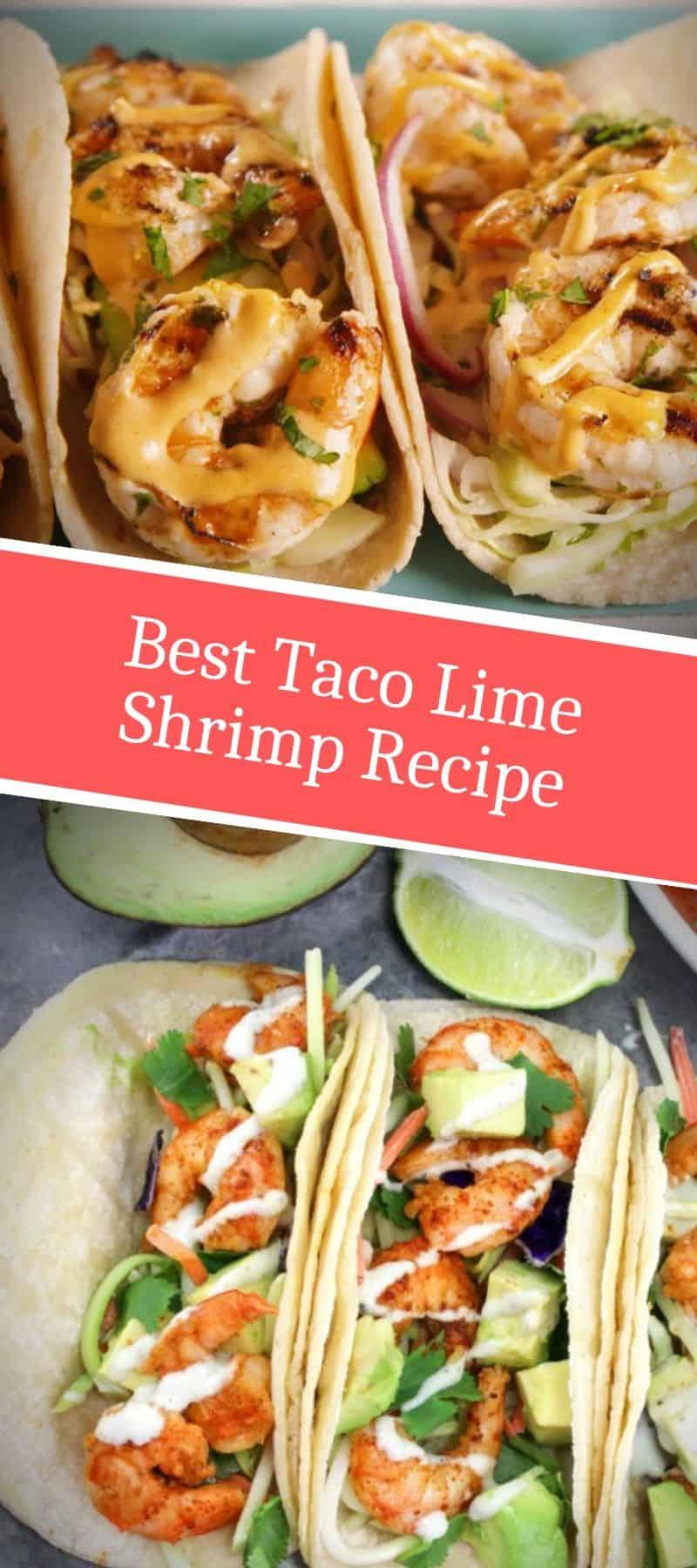 Best Taco Lime Shrimp Recipe 3