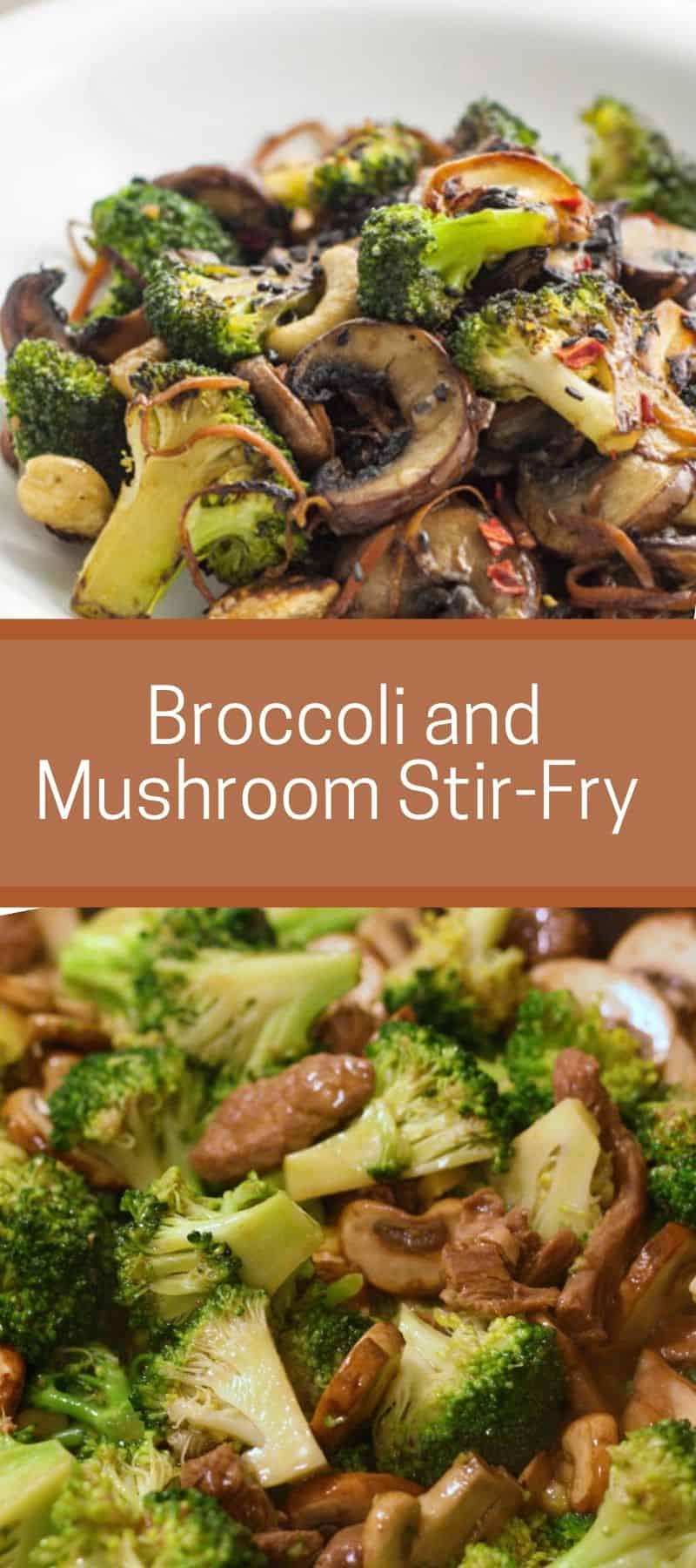 Broccoli and Mushroom Stir-Fry Recipe 3