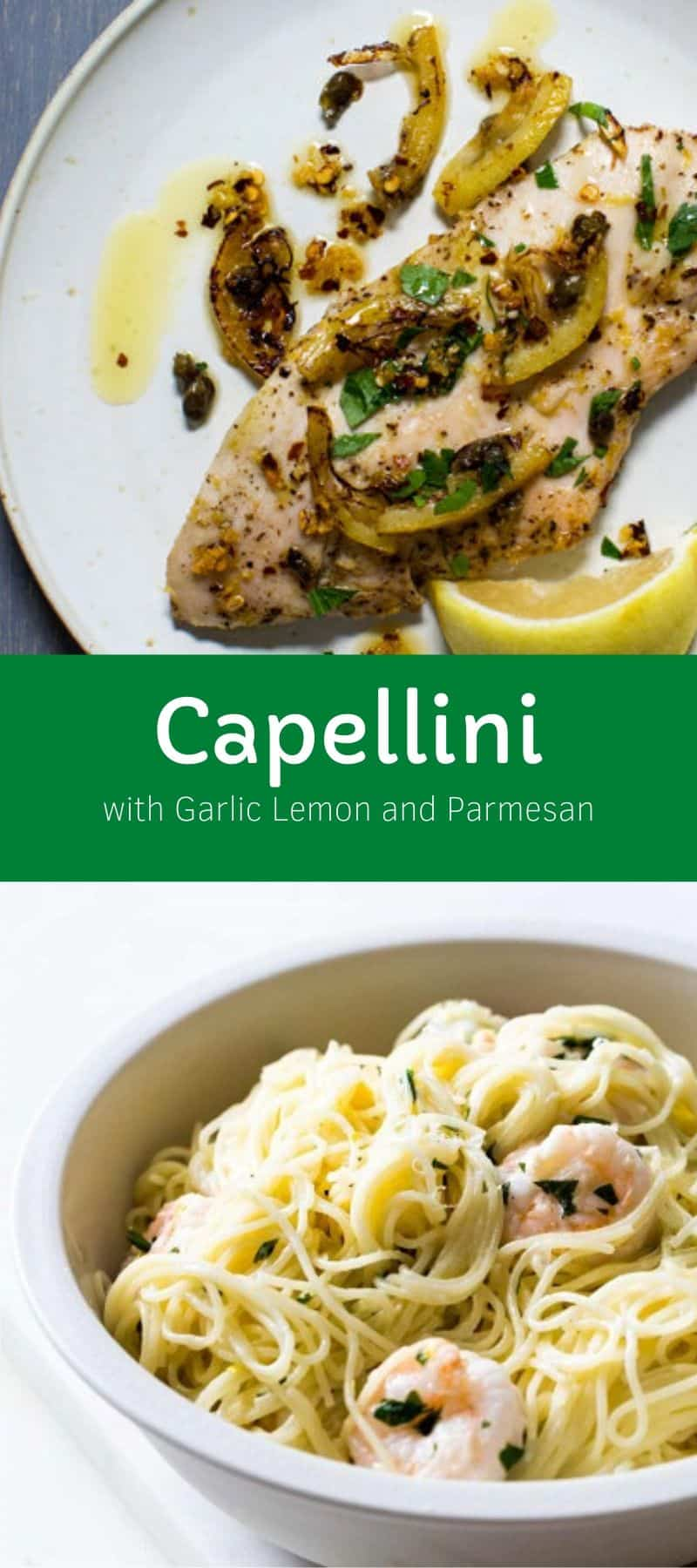 Capellini with Garlic Lemon and Parmesan 3