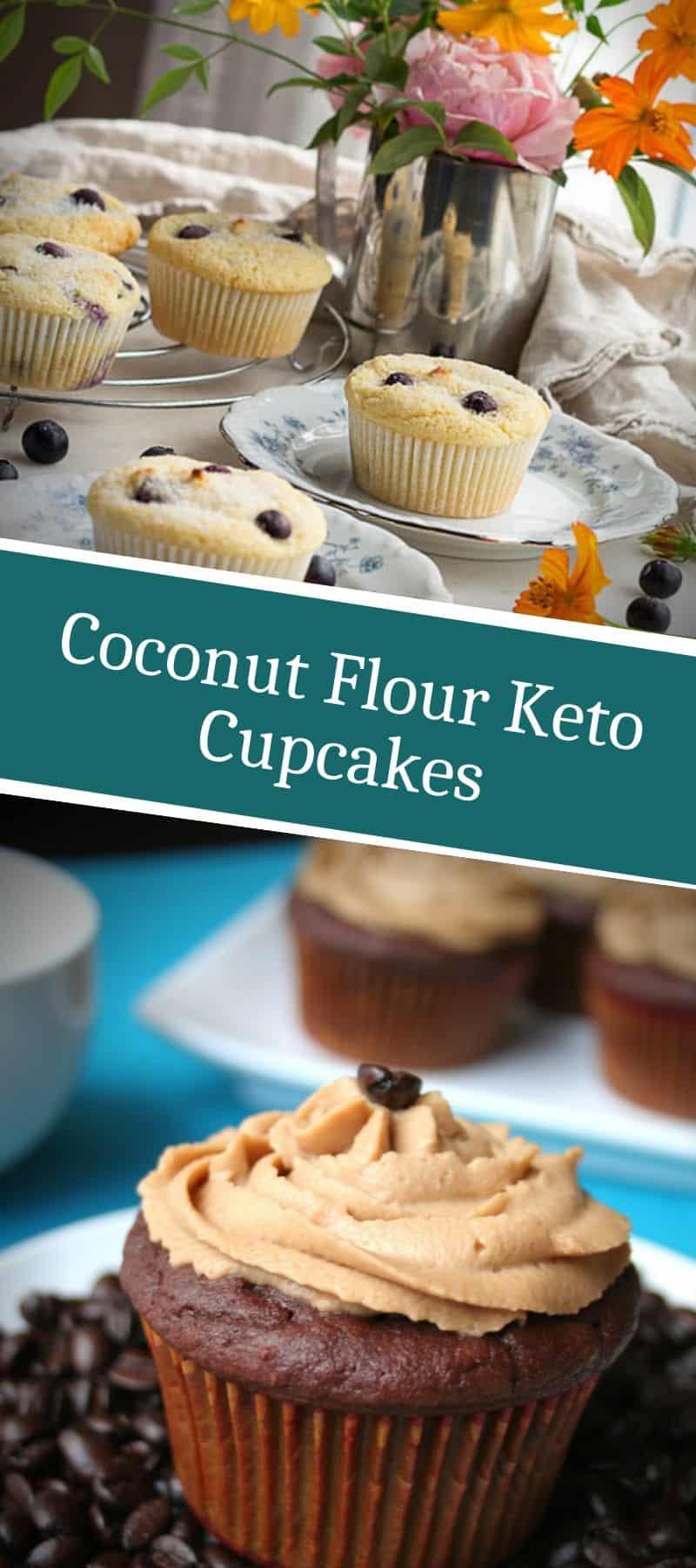 Coconut Flour Keto Cupcakes 3