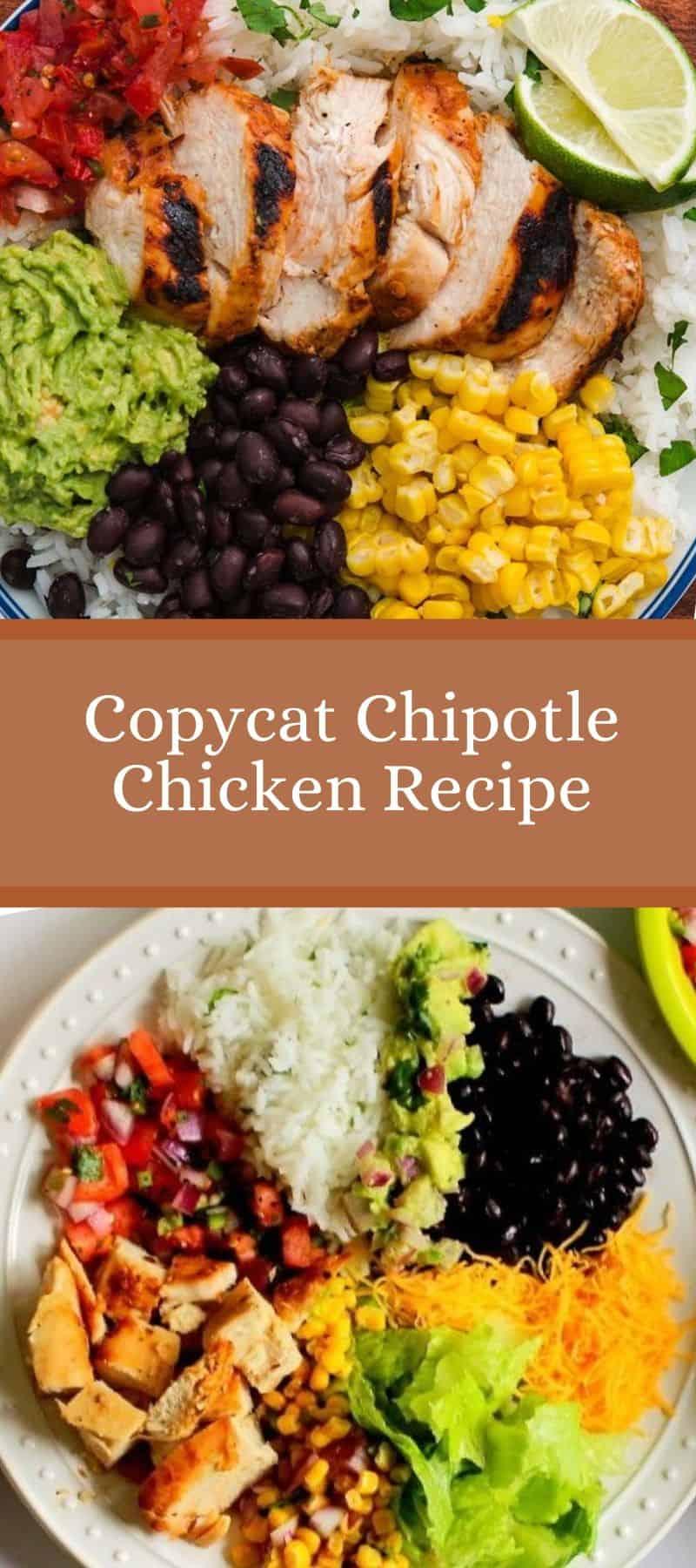 Copycat Chipotle Chicken Recipe 3