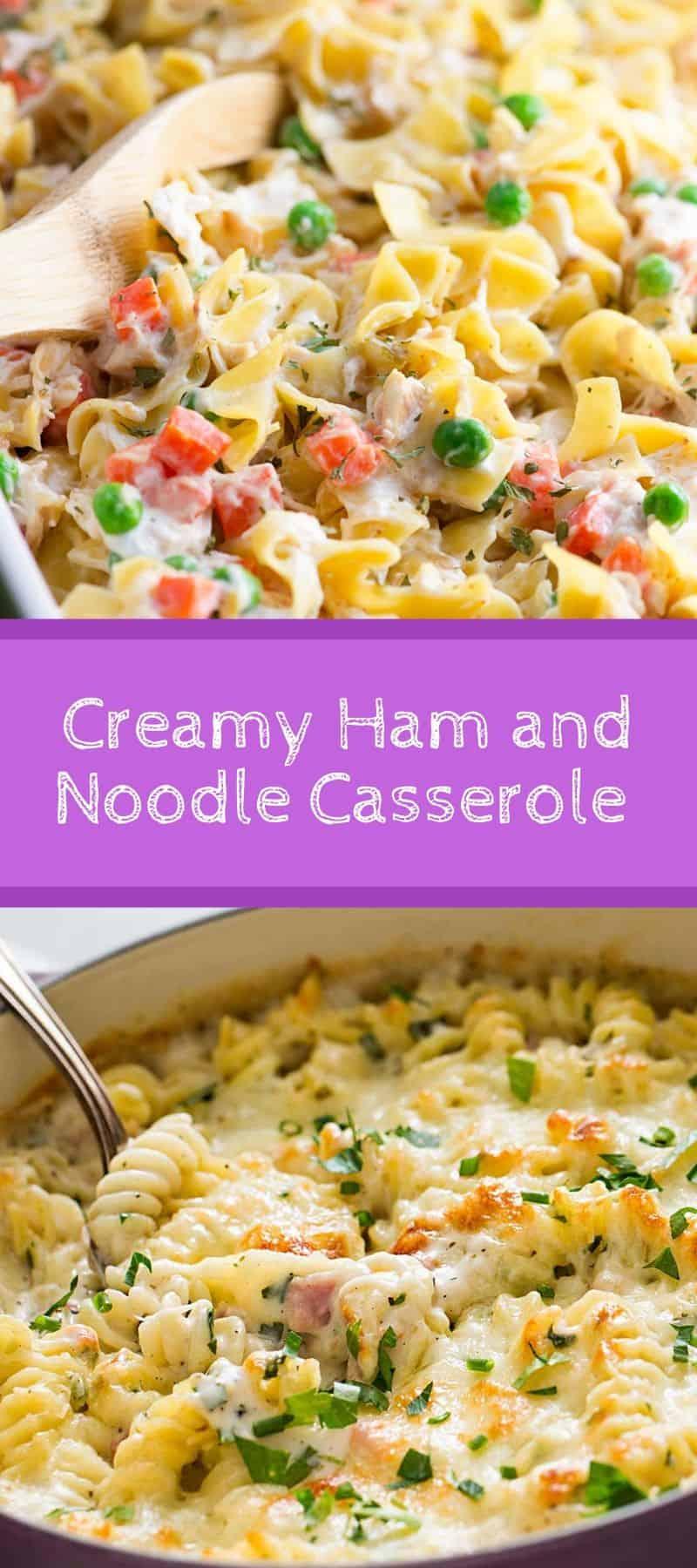 Creamy Ham and Noodle Casserole Recipe 3