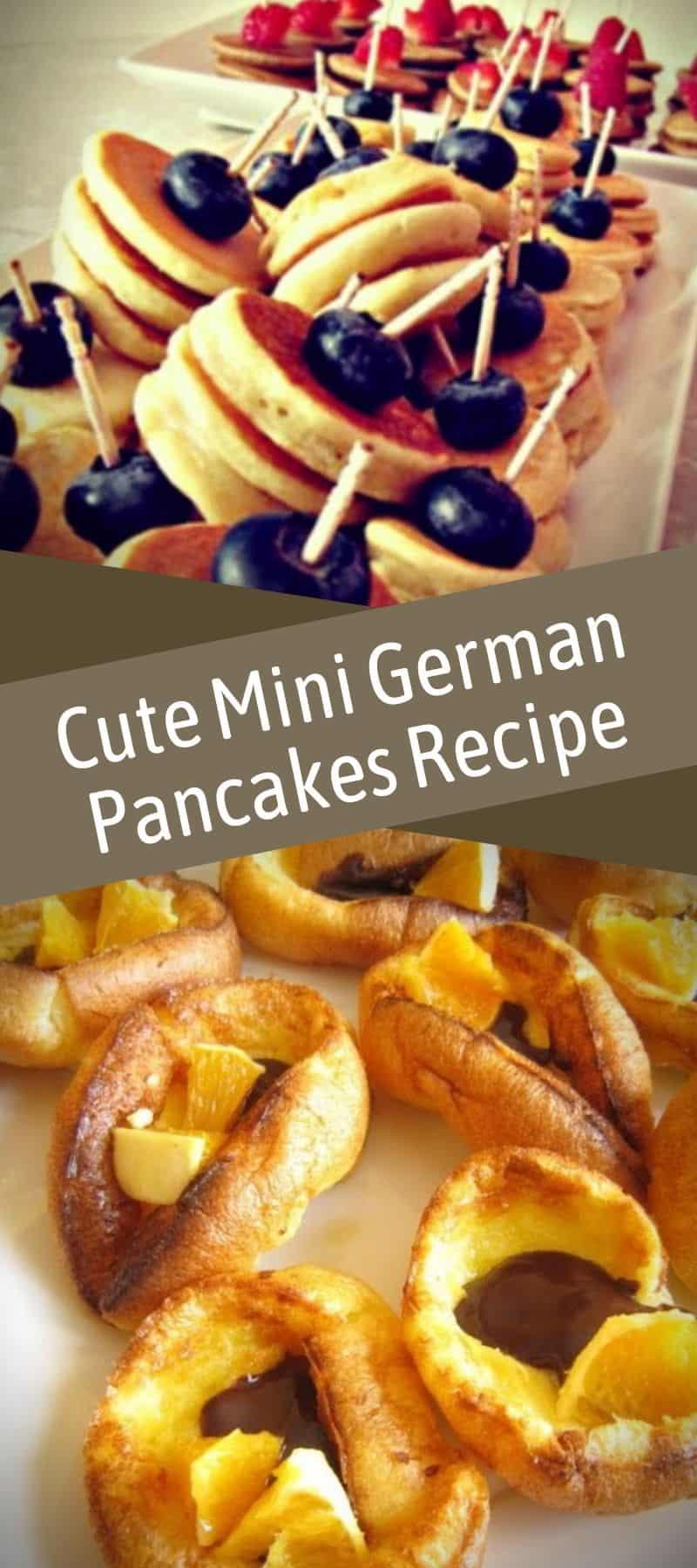 Cute Mini German Pancakes Recipe 3