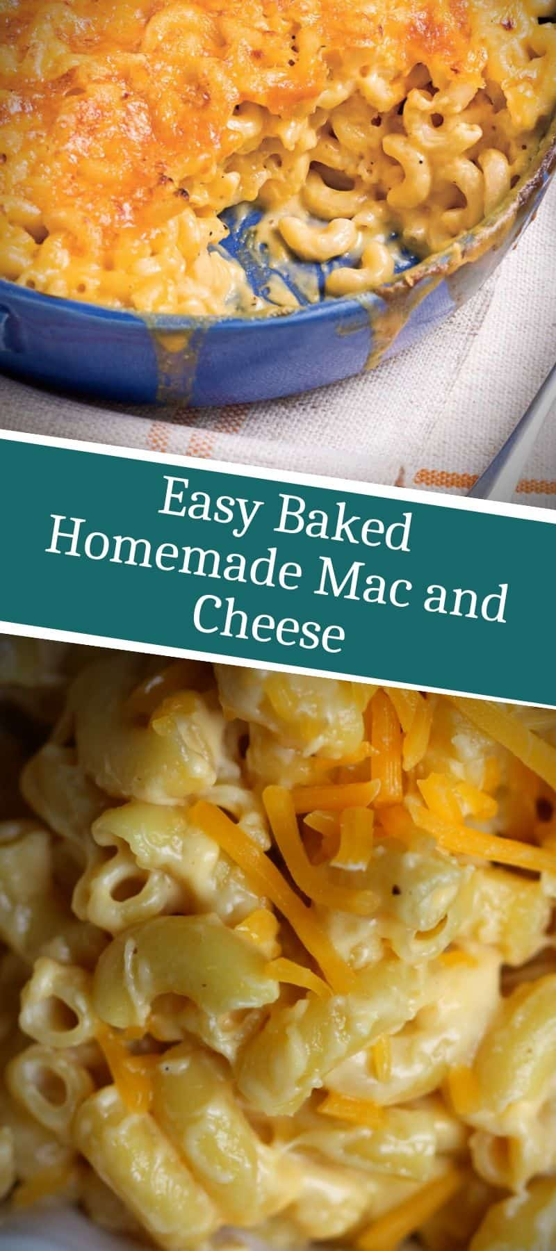Easy Baked Homemade Mac and Cheese 3