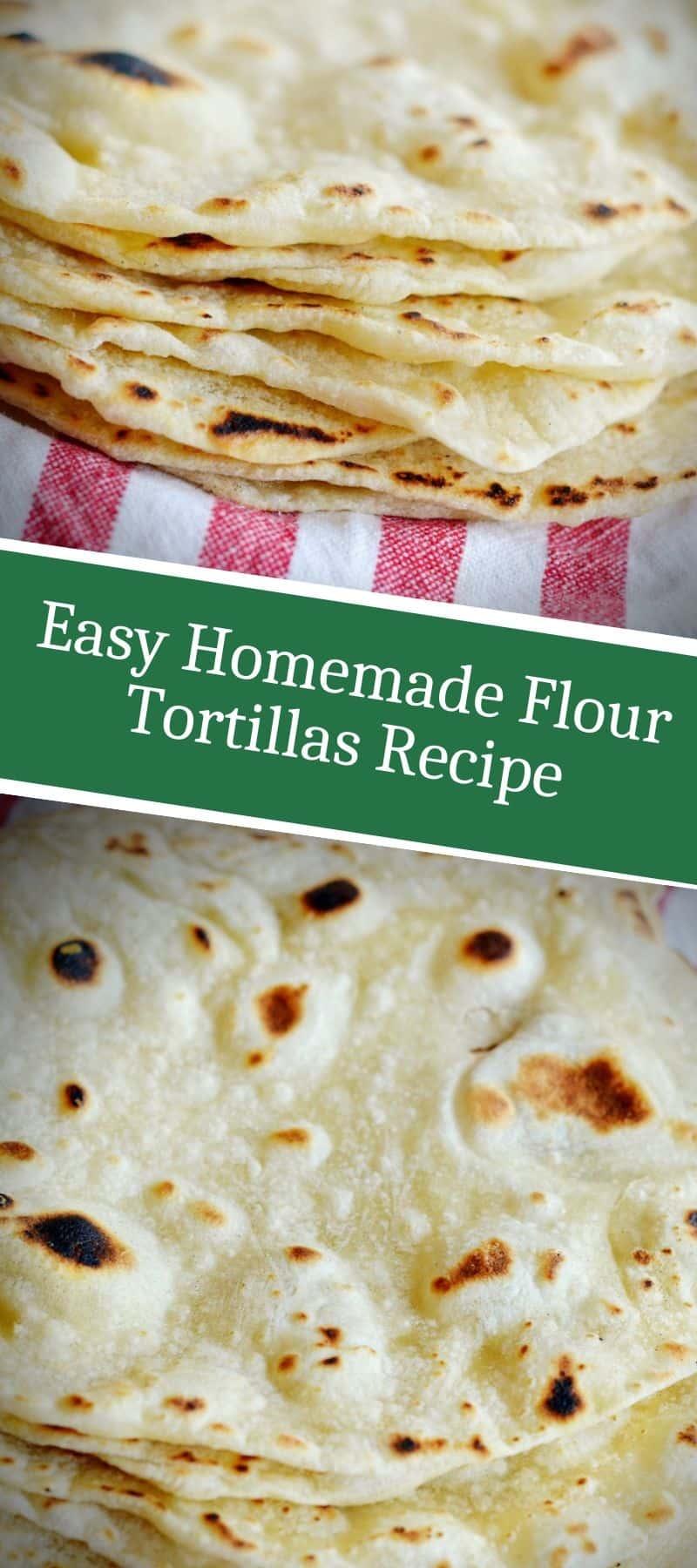 Easy Homemade Flour Tortillas Recipe 3