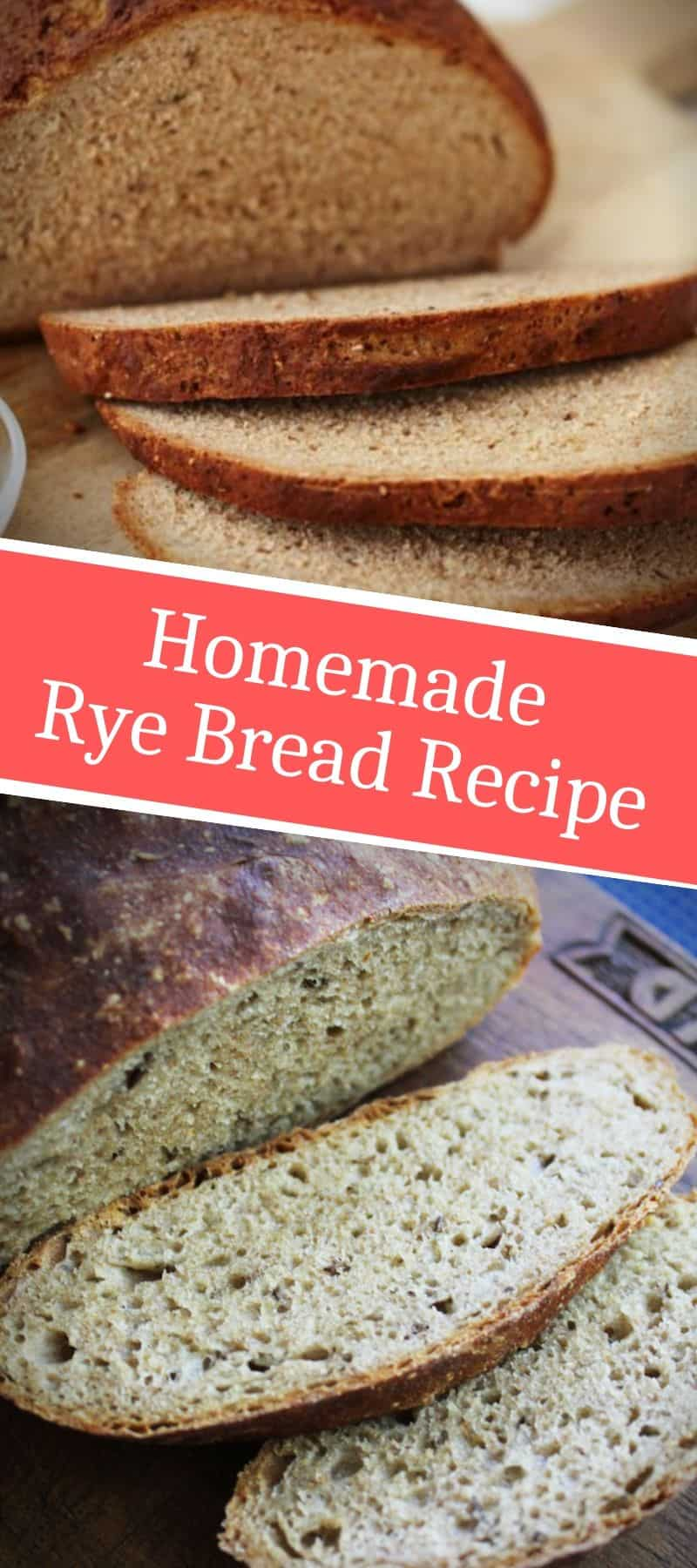 Homemade Rye Bread Recipe 3
