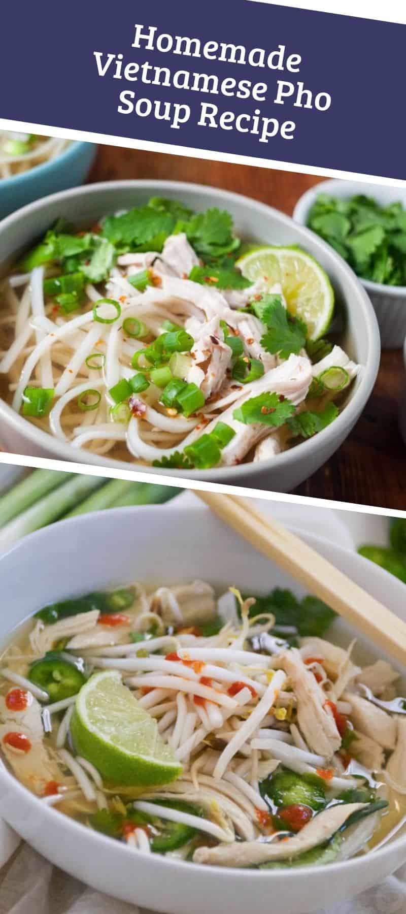Homemade Vietnamese Pho Soup Recipe