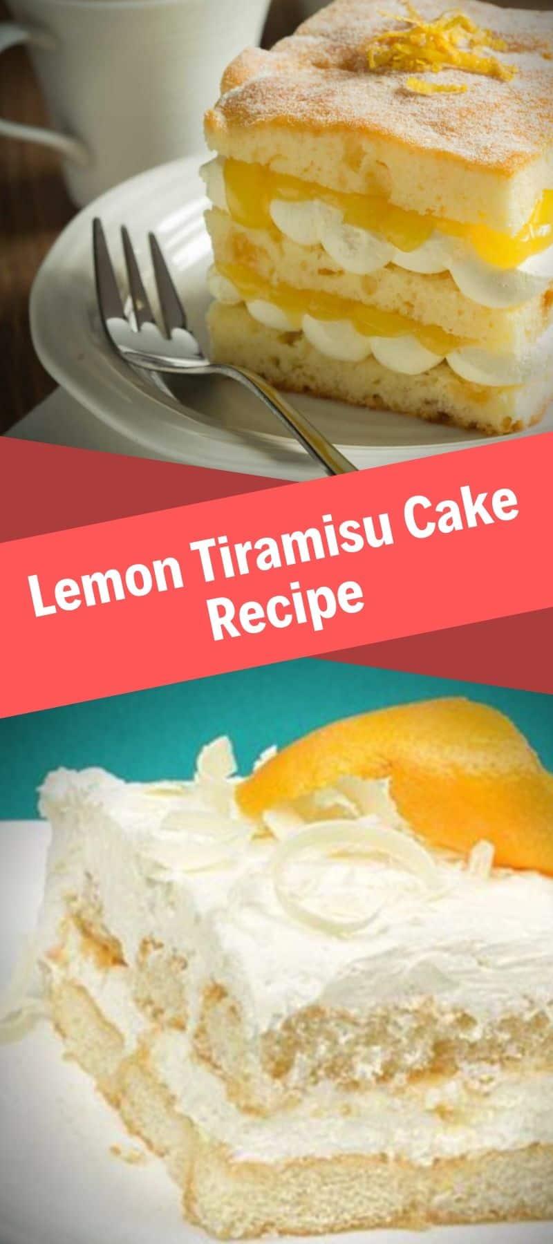 Lemon Tiramisu Cake Recipe 3