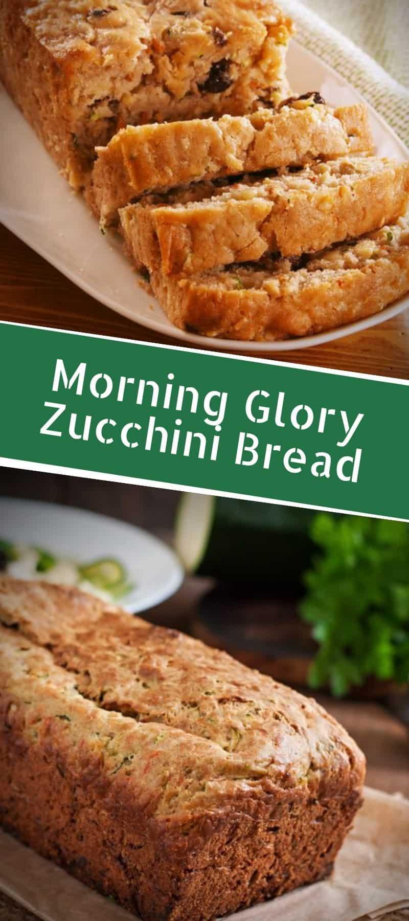 Morning Glory Zucchini Bread Recipe 3