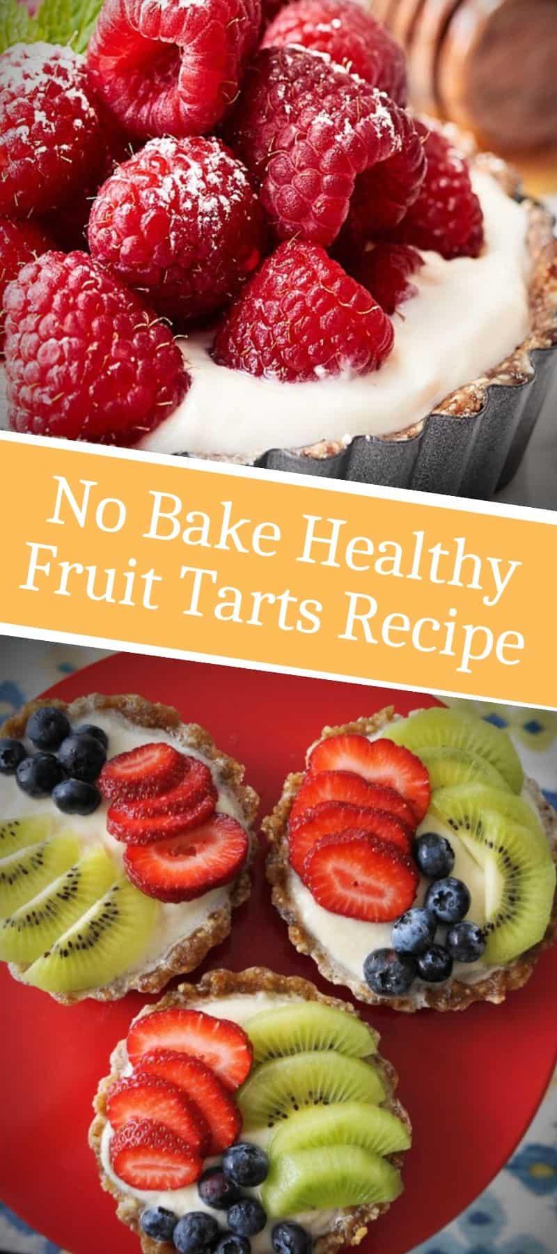 No Bake Healthy Fruit Tarts Recipe 3