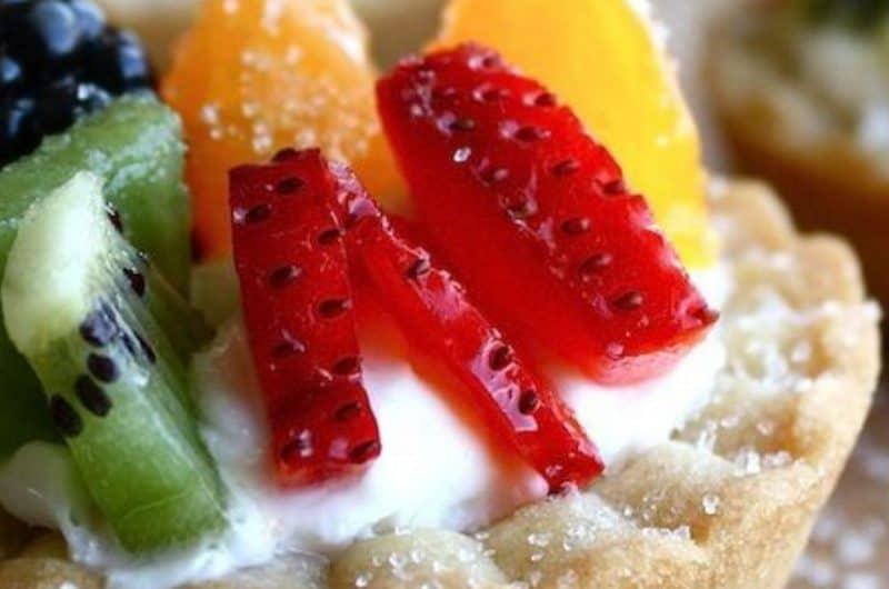 Healthy Fruit Tarts