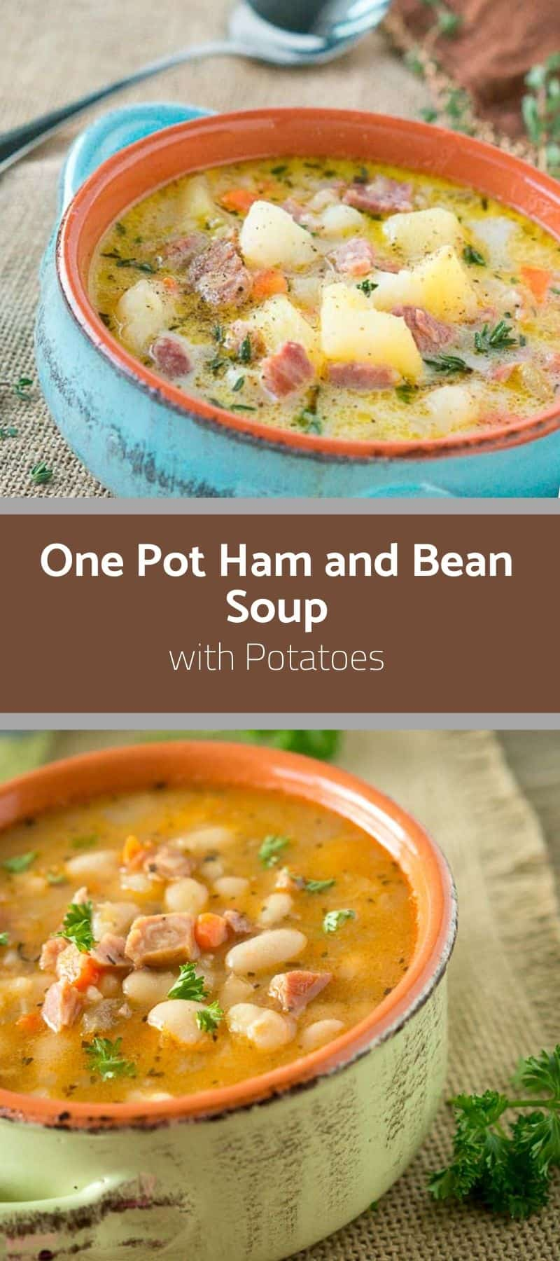 One Pot Ham and Bean Soup with Potatoes 3