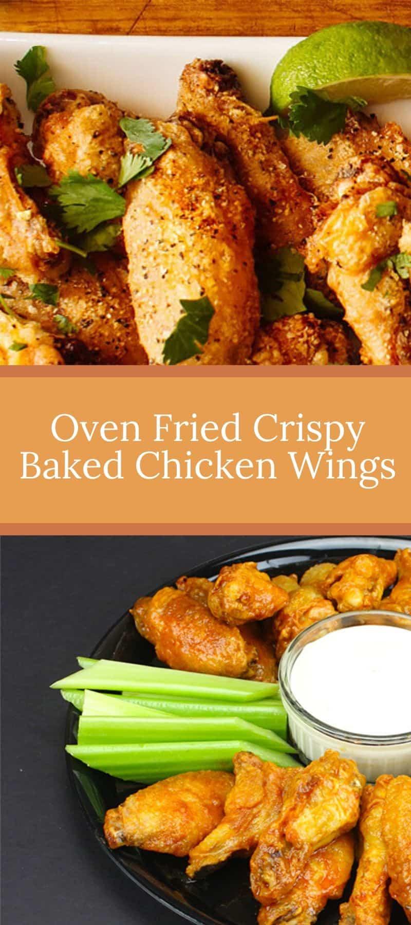 Oven Fried Crispy Baked Chicken Wings 3