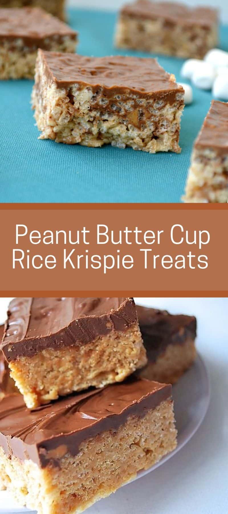 Peanut Butter Cup Rice Krispie Treats Recipe 3