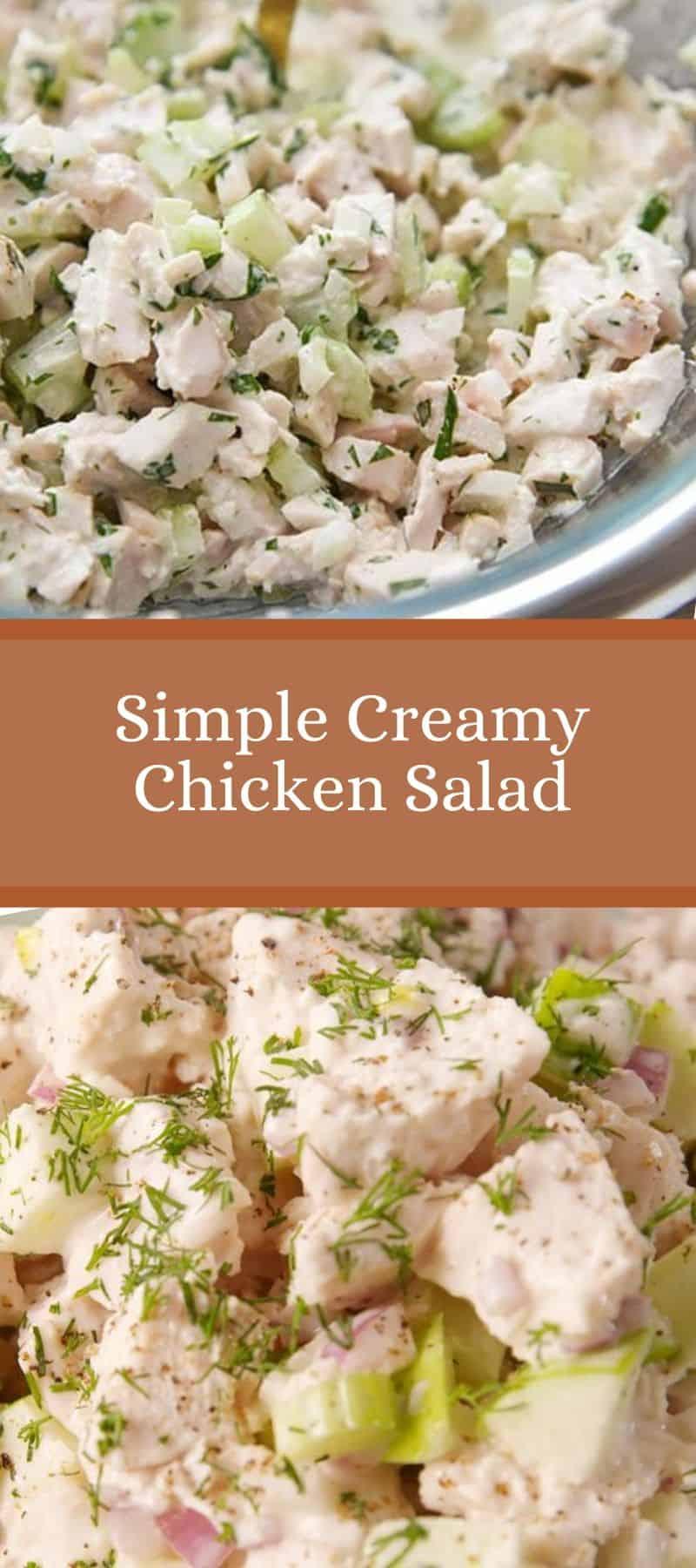 Simple Creamy Chicken Salad Recipe 3