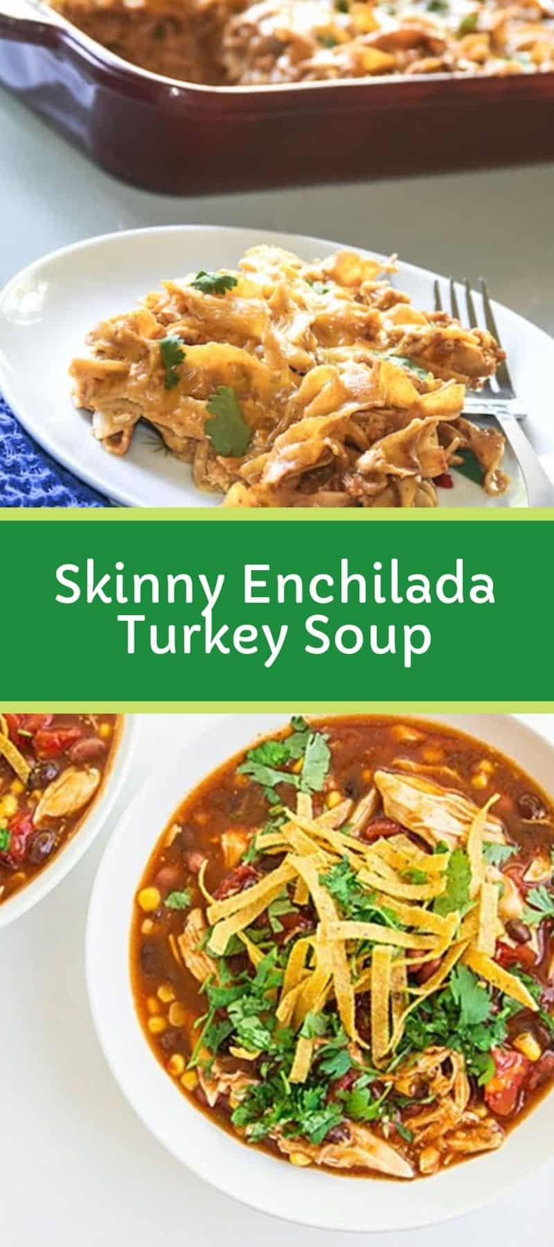 Skinny Enchilada Turkey Soup 3
