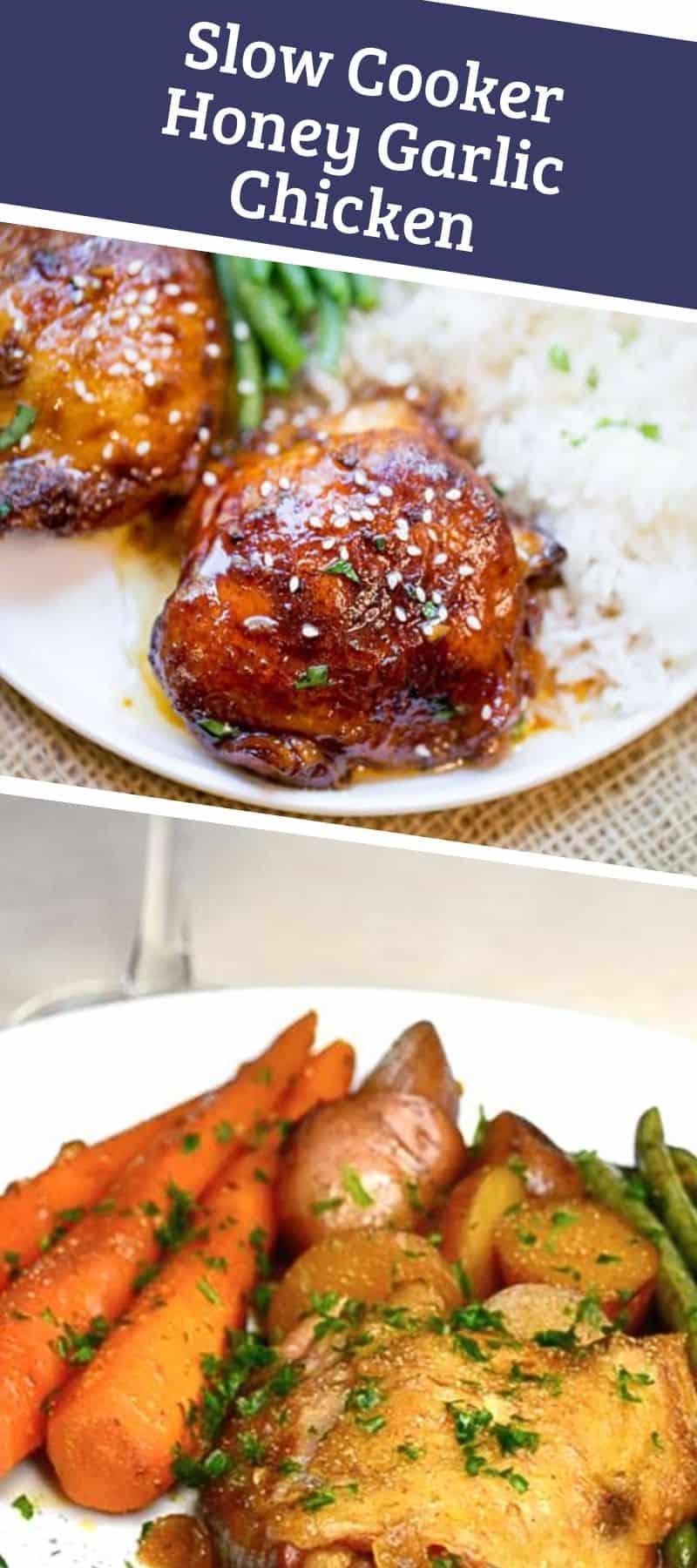 Slow Cooker Honey Garlic Chicken 3