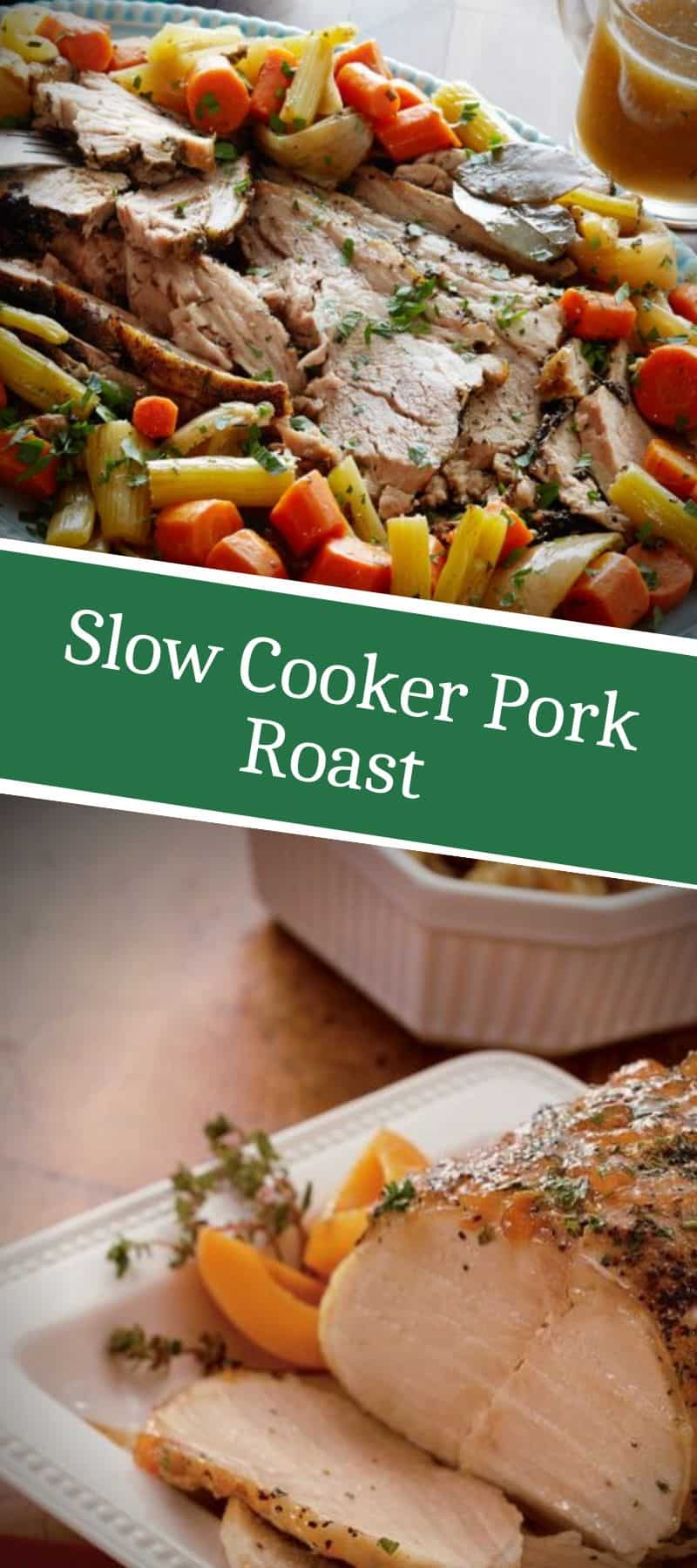Slow Cooker Pork Roast Recipe 3