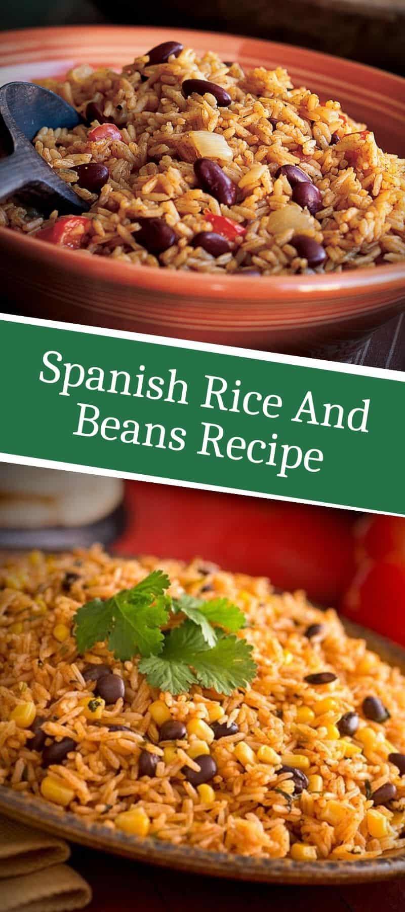 Spanish Rice And Beans Recipe 3