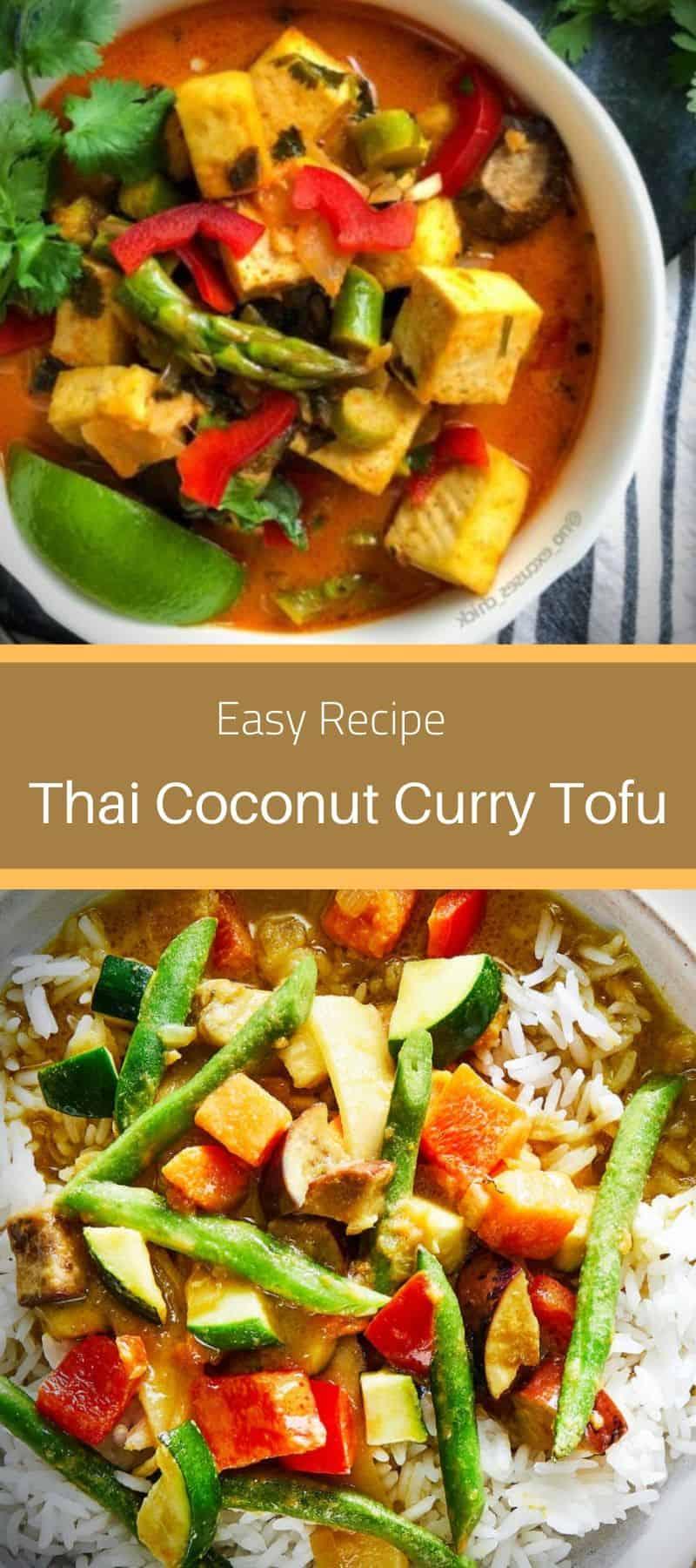 Thai Coconut Curry Tofu Recipe 3
