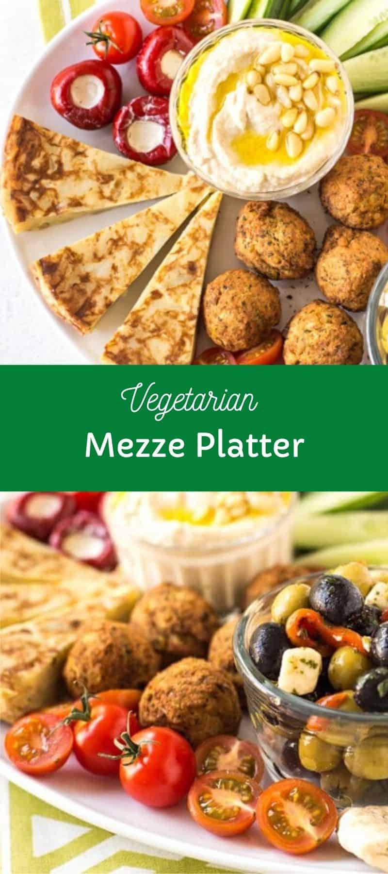 Vegetarian Mezze Platter 3