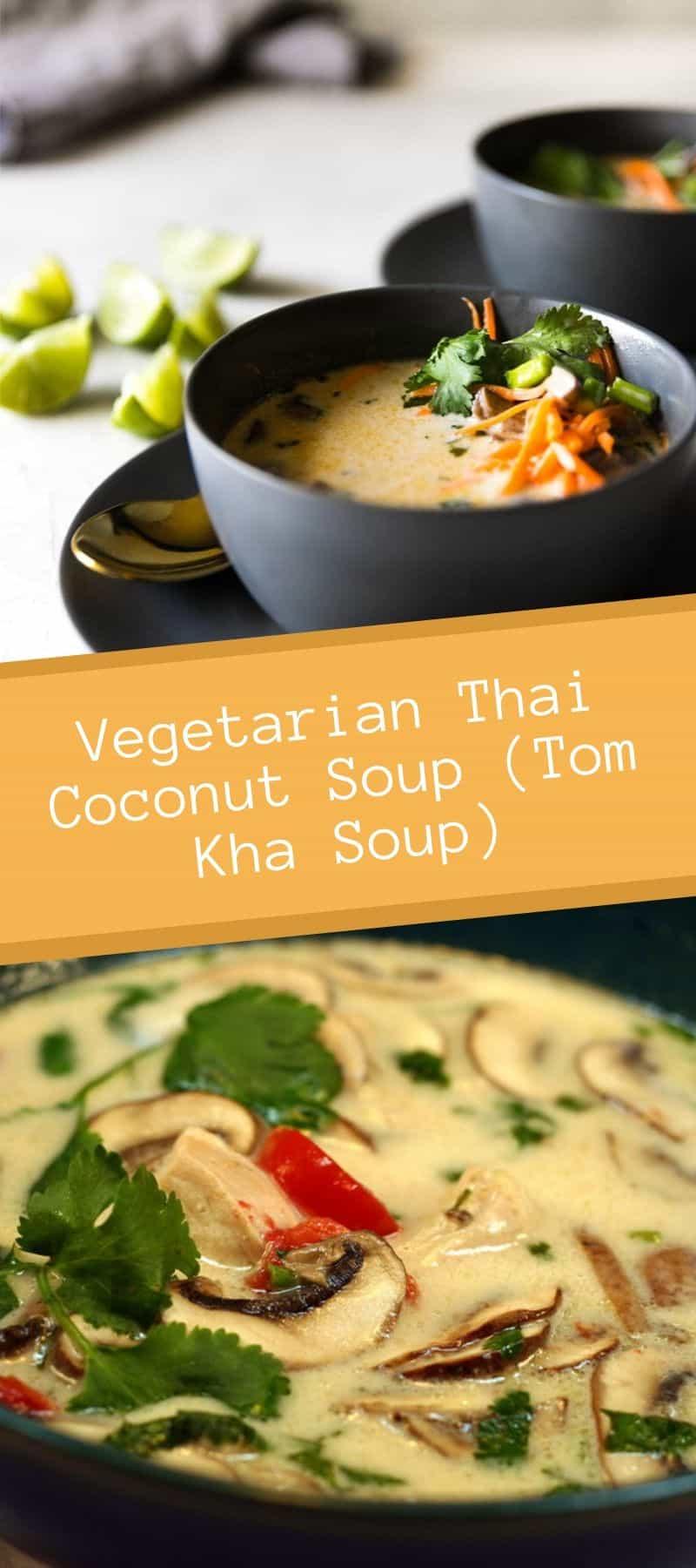 Vegetarian Thai Coconut Soup (Tom Kha Soup) 3